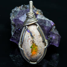 Load image into Gallery viewer, Joy: Fire Opal Necklace