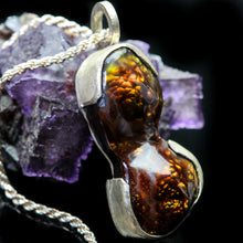 Load image into Gallery viewer, Portal: Fire Agate  Pendant