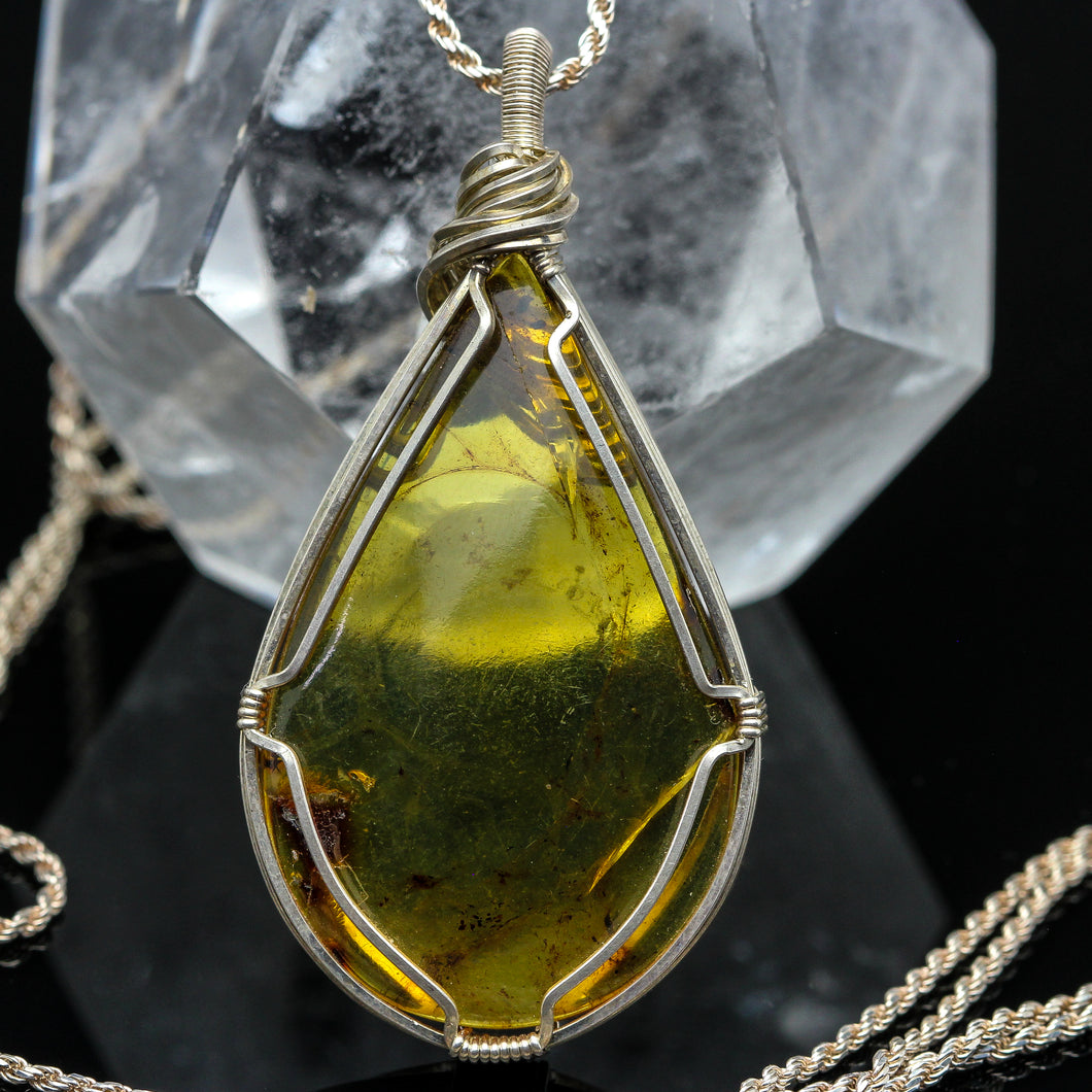 Old Earth: Amber Necklace