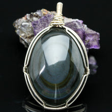 Load image into Gallery viewer, Rainbow Obsidian Pendant