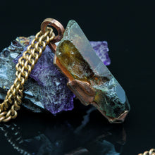 Load image into Gallery viewer, Raw Citrine and Copper Pendant