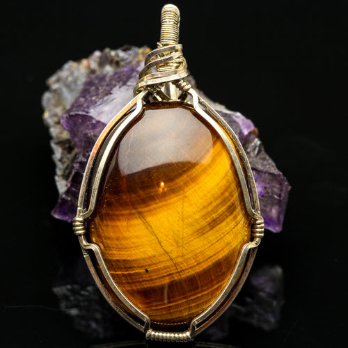 Courage: Tigers Eye Pendant