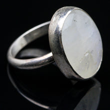 Load image into Gallery viewer, Goddess: Rainbow Moonstone  Ring- Size 6