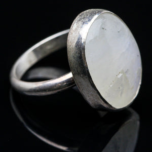 Goddess: Rainbow Moonstone  Ring- Size 6
