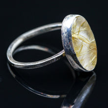 Load image into Gallery viewer, Rutilated Quartz  Ring - Size 7