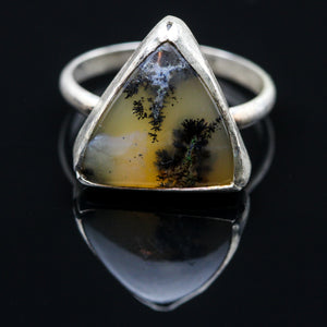 Dendritic Agate Ring- Size 5.5