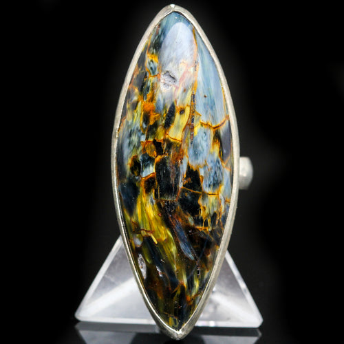Spiritual Allies: Pietersite Ring- Size 6