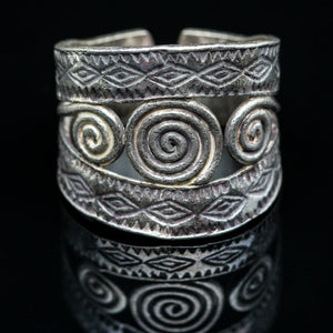 Handmade Sterling Ring- Size 8.5