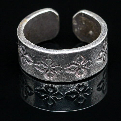 Handmade Sterling Ring- Size 5.5