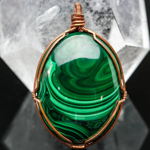 Malachite In Copper
