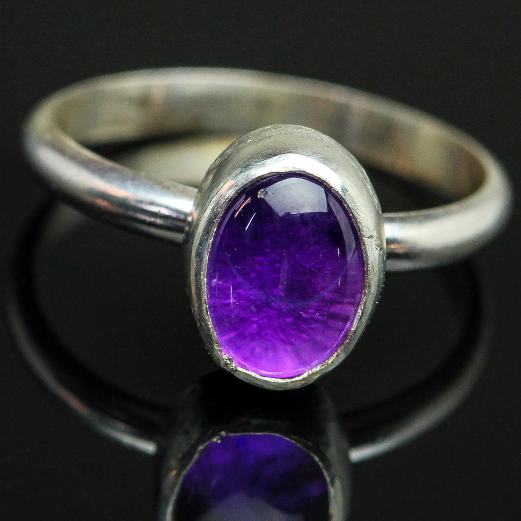 Happiness : Amethyst  Ring