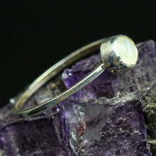 Load image into Gallery viewer, Goddess Light: Rainbow Moonstone Rings