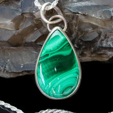 Load image into Gallery viewer, Love: Malachite Pendant