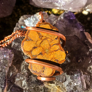 Ayahuasca and Copper Necklace