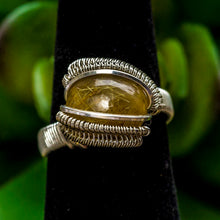 Load image into Gallery viewer, Size 5.5 Rutilated Quartz Ring