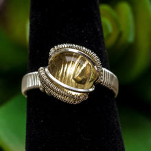 Load image into Gallery viewer, Size 6 Citrine Ring