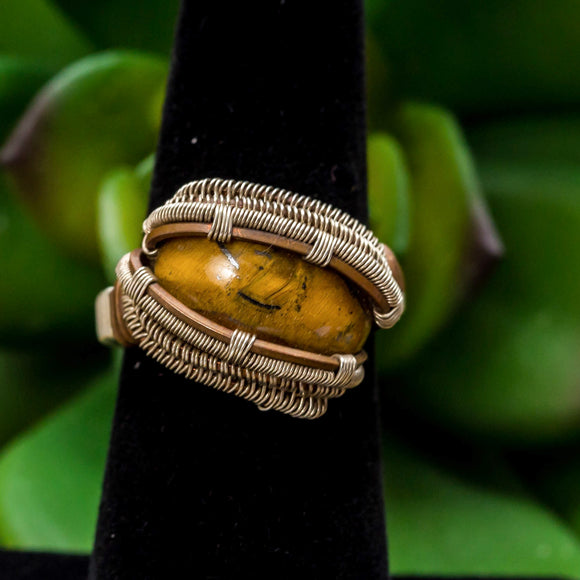 Size 6 Tigers Eye Ring