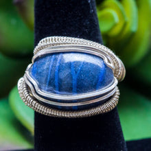 Load image into Gallery viewer, Size 6.5 Blue Sodalite Ring