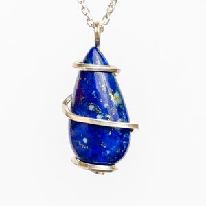 Lapis Necklace of Truth