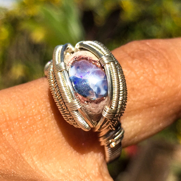 Fire Opal Ring Size 6