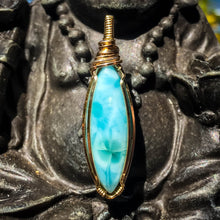 Load image into Gallery viewer, Hawaiian Vibe Larimar Pendant