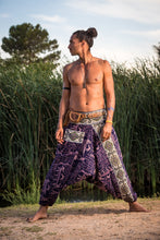 Load image into Gallery viewer, Handmade Harem Pants - Egyptian Style Blue