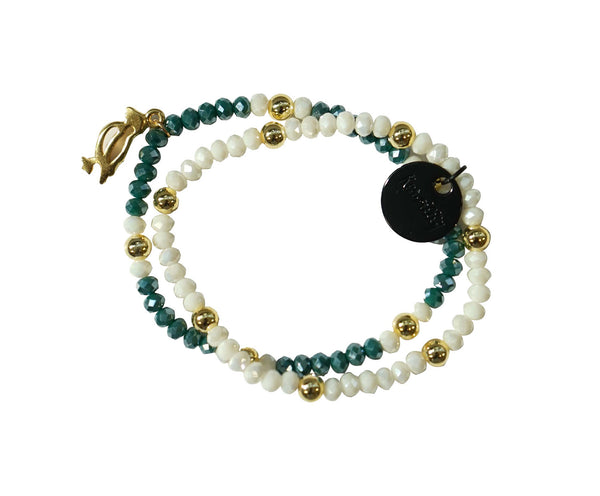 Kenzilily X By Invite Only : Emerald Bracelet