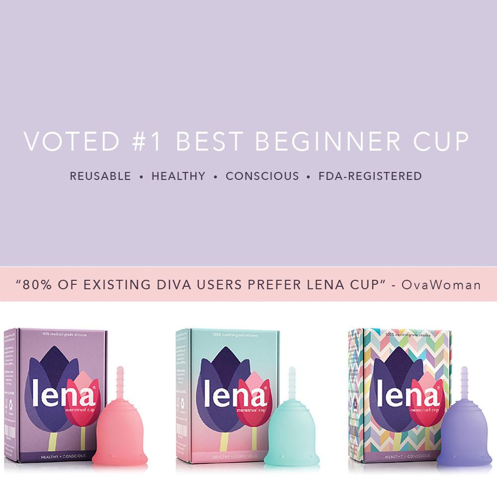 LENA Cup, better than Diva Cup | My Fertility NZ