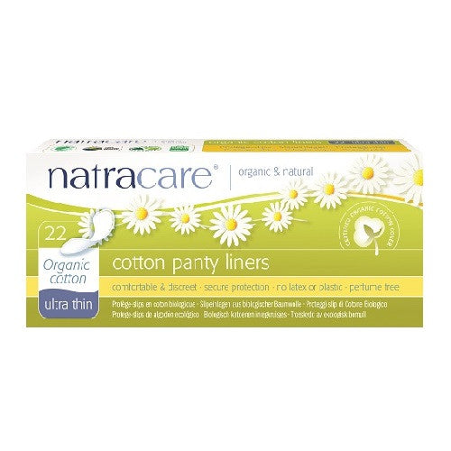 Natracare Ultra thin Cotton Panty Liners | My Fertility NZ