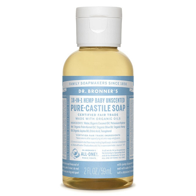 Dr Bronner's Baby Unscented Liquid Soap | My Fertility NZ
