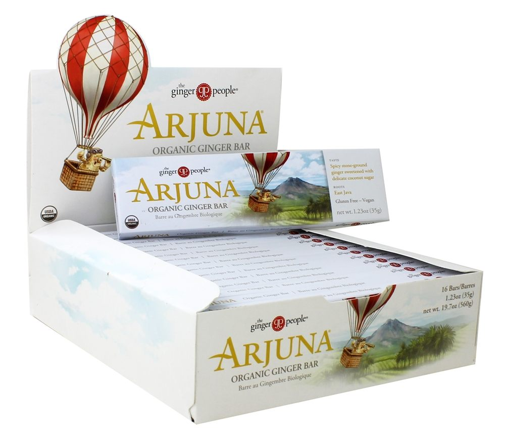 Arjuna Ginger Bar  |  My Fertility NZ