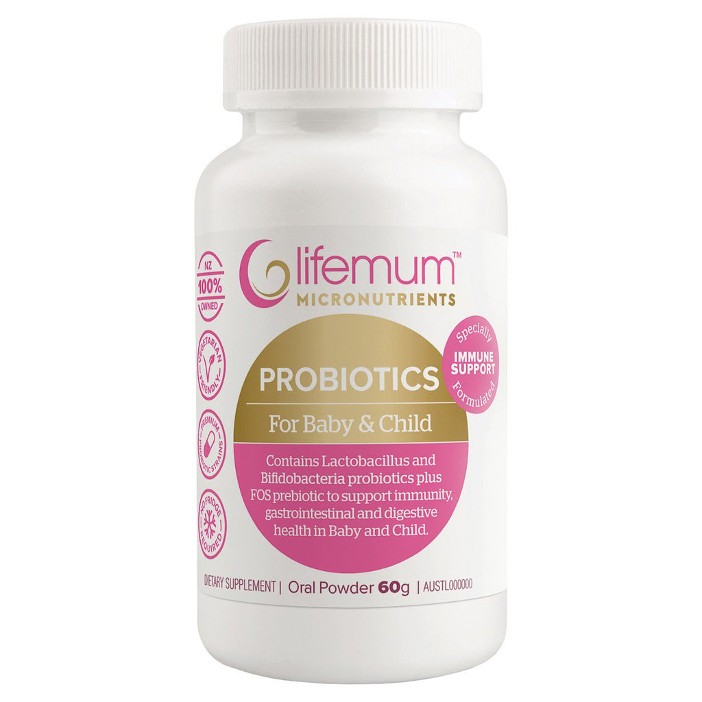 Lifemum Probiotics for Baby and Child  |  My Fertility NZ
