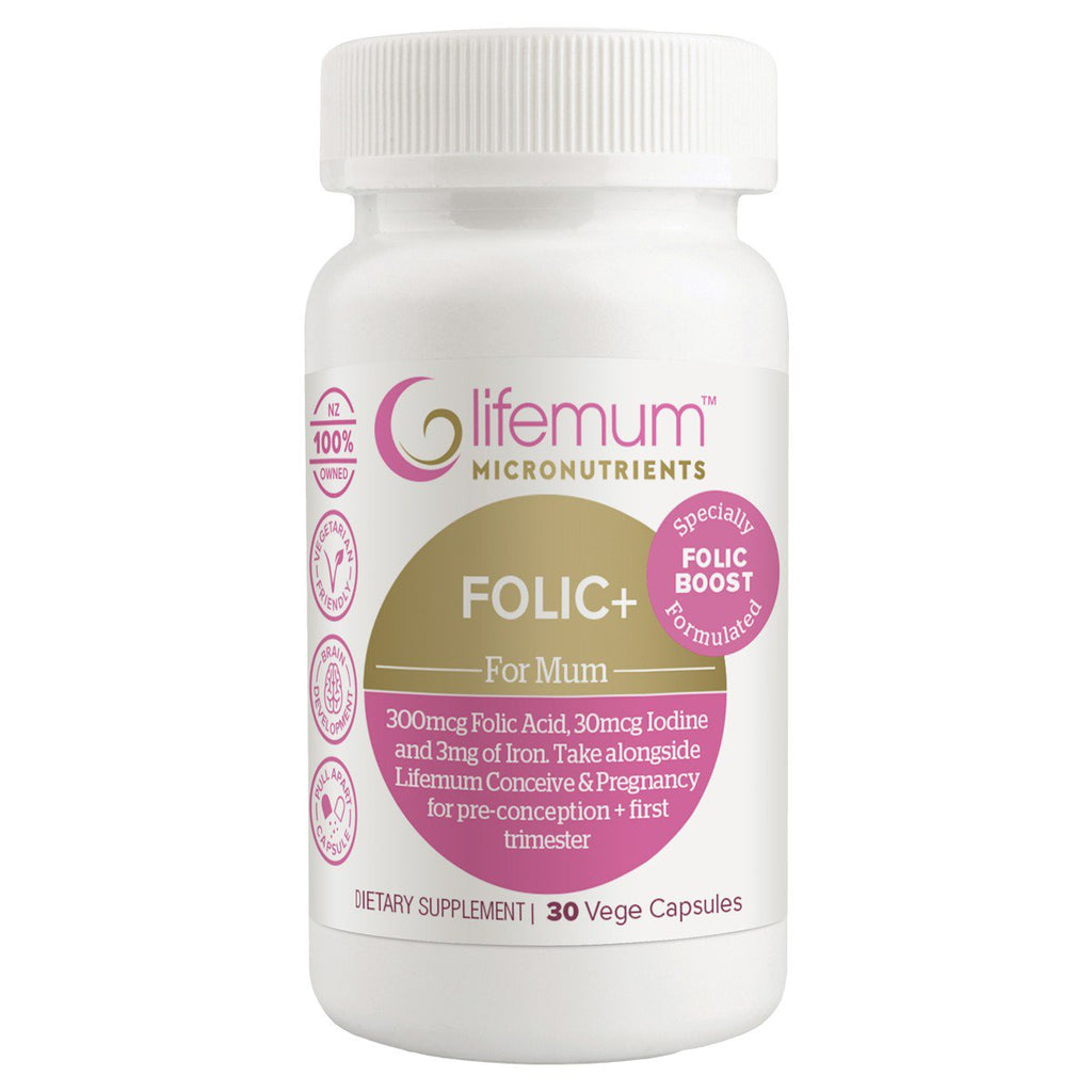 Lifemum Folic+  |  My Fertility NZ