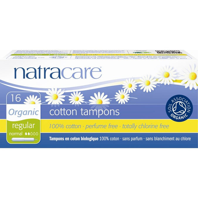 Natracare Applicator Tampons Regular