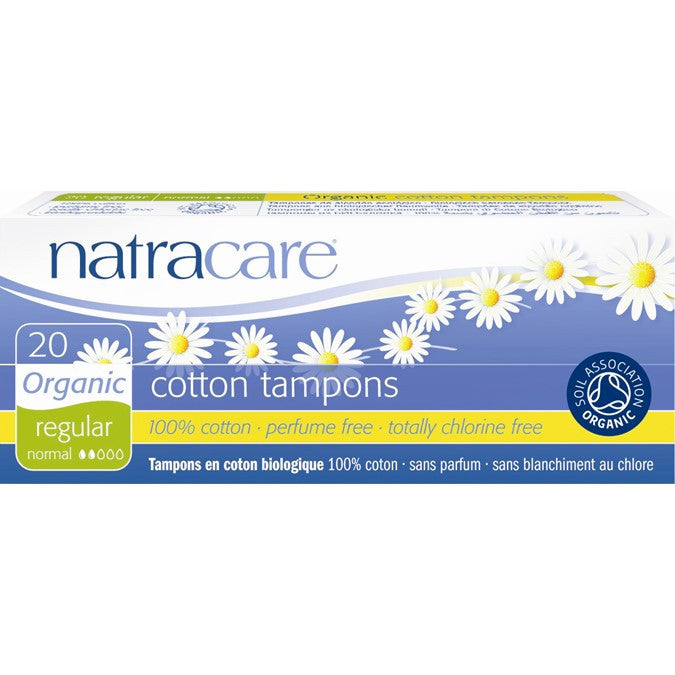 Natracare Tampons Regular 20 | My Fertility NZ