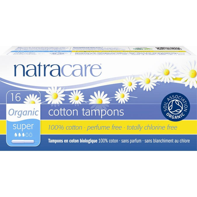 Natracare Applicator Tampons Super | My Fertility NZ