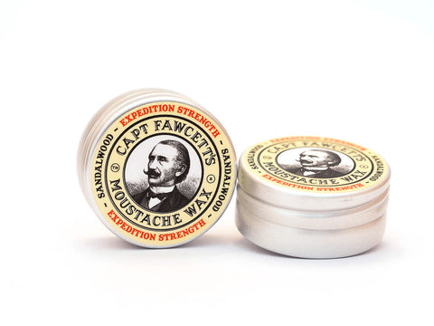 CAPTAIN FAWCETT: EXPEDITION STRENGTH MOUSTACHE WAX, 15ML