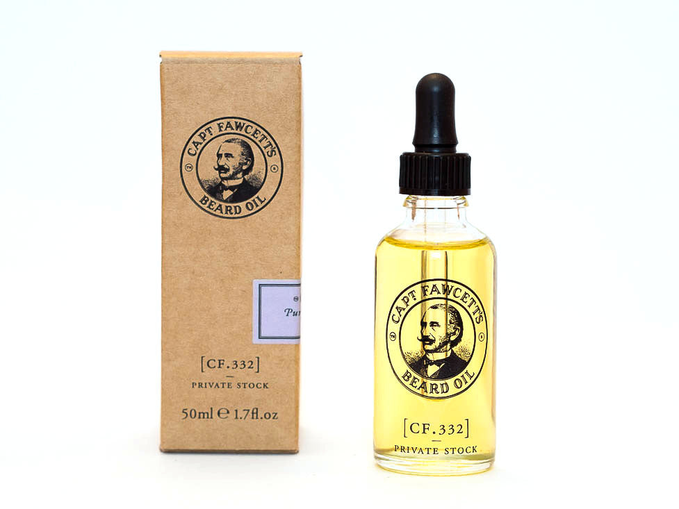 CAPTAIN FAWCETT: PRIVATE STOCK BEARD OIL, 50ml