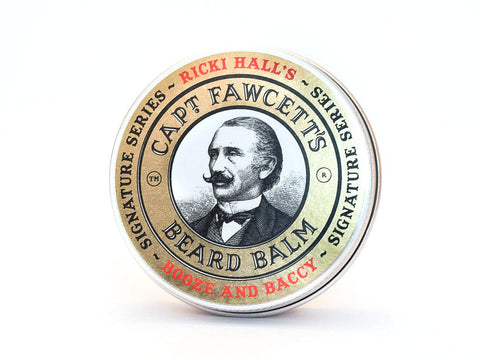 CAPTAIN FAWCETT: RICKI HALL'S BOOZE AND BACCY BEARD BALM, 60ML