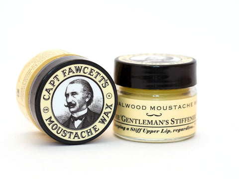 CAPTAIN FAWCETT: SANDLEWOOD MOUSTACHE WAX, 15ml