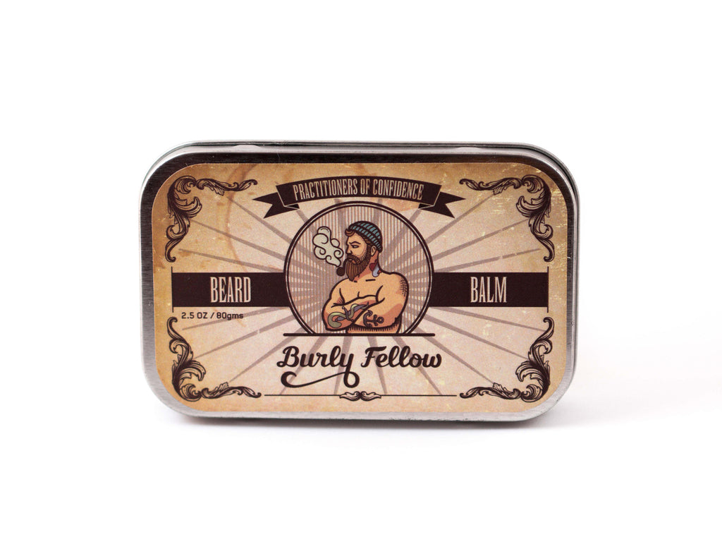 BURLY FELLOW: BEARD BALM - TOBACCO & VANILLA
