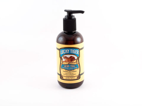 LUCKY TIGER: PEPPERMINT SHAMPOO AND BODY WASH