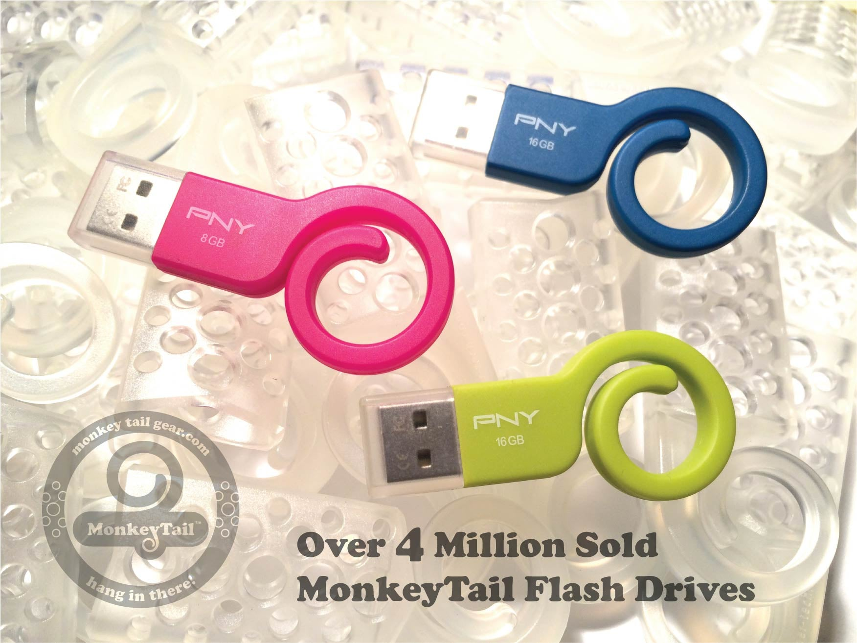 MonkeyTail Gear USB Flash Drive