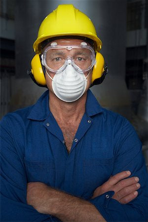Why should you wear a dust mask?