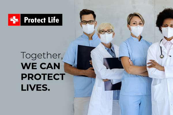 Together, we can protect lives!