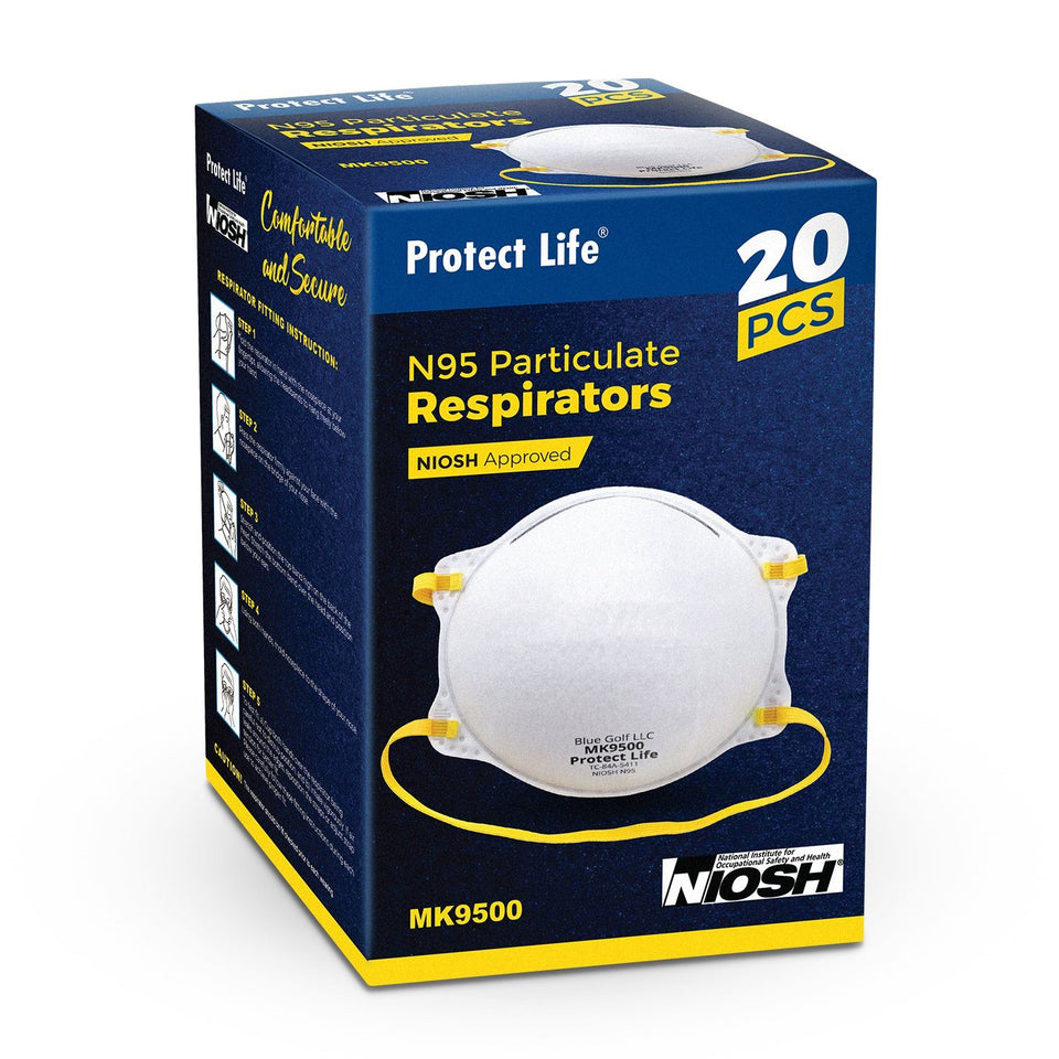 [N95 Masks For Sale NIOSH Approved -US Stock] - Protect Life