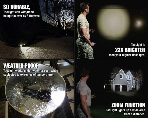 *LED Flashlight 2000 Lumen Tactical Waterproof Zoomable Powerful XML-T6 Lamp Camping Torch