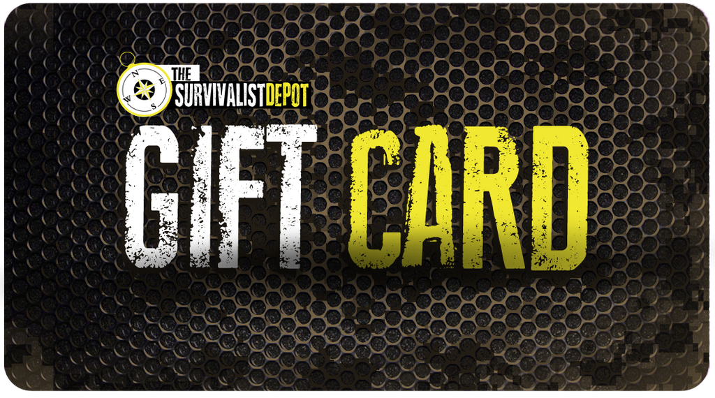 The Survivalist Gift Card