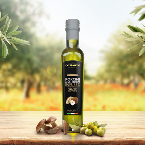 Porcini Mushroom Infused Extra Virgin Olive Oil