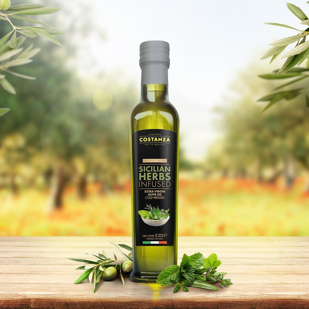 Sicilian Herbs Infused Extra Virgin Olive Oil